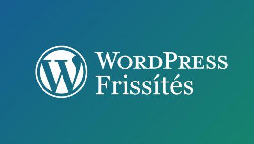trusted wordpress frissites